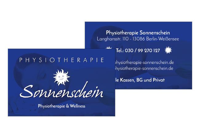 Physiotherapie Sonnenschein Oj Steinbach Design